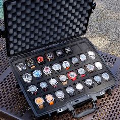 The Martinator Watch Case Watch Display Case, Watch Storage, Display Cases, Diy Storage, Watch Cases For Men, Hand Watch, Watch Box, Luxury Watches For Men, Cool Watches