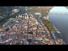 Vista aérea sobre Vila Franca de Xira City Photo, Lisbon, City