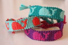 Made To Order Whale Friendship Bracelet