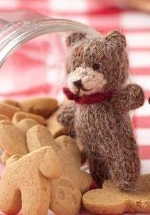 mini teddy bear knitting pattern