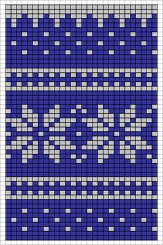 Knitting charts snowflake fair isles new Ideas Tapestry Crochet Patterns, Fair Isle Knitting Patterns, Fair Isle Pattern, Knitting Charts, Knitting Socks, Knitting Stitches, Free Knitting, Knitted Christmas Stockings, Christmas Knitting