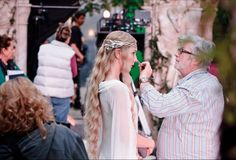 Behind the Scenes from the Hobbit - Galadriel