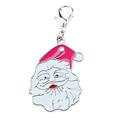 Tint Lovely Santa Claus Style Collar Charm for Dogs Cats (Random Color) * Hurry! Check out this great product : Cat accessories