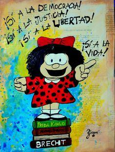 Mitin de Mafalda