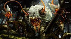 http://images6.fanpop.com/image/photos/38700000/Flower-Monster-fantasy-38740721-1600-900.jpg