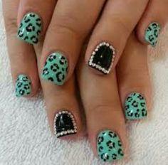 Sea green cheetah...