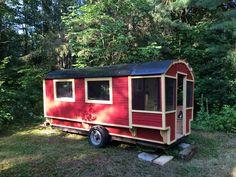Daphne's Caravans: Magical Gypsy Caravans, guest spaces or retreats Home Made Camper Trailer, Camping Trailer Diy, Go Camping, Camper Trailers, Travel Trailers, Homemade Camper, Diy Camper, Camper Ideas, Gypsy Caravan