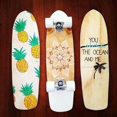 Board : pineapple, mandala, aloha