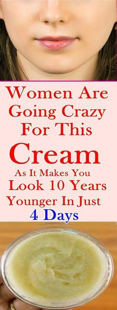 WOMEN ARE GOING CRAZY FOR THIS CREAM AS IT MAKES YOU LOOK 10 YEARS YOUNGER IN JUST 4 DAYS #fitness #beauty #hair #workout #health #diy #skin #Pore #skincare #skintags #skintagremover #facemask #DIY #workout #womenproblems #haircare #teethcare #homerecipe
