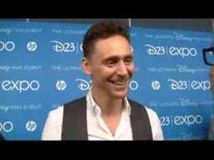 """Tom Hiddleston Thor 2 The Pirate Fairy Interview // My favorite part of this interview is his pronunciation of """"bananas."""" XD I actually went """"DDDKKKEESFTTT!"""" out loud when he recited part of the Loki speech. And he collects books, you say? His house is full of them?? STOP BEING PERFECT. *I* want a house full of books! (-SG)"""