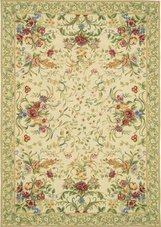 The Adria Needlepoint Rug is made entirely by hand with hundreds of custom dyed colors based on an original painting by Elizabeth Moisan inspired by century English rugs. Rug Design Copyrighted Asmara, Inc. Carpet Remnants, Axminster Carpets, Decoupage, European Style Homes, Floral Rug, Red Rugs, Carpet Design, Carpet Runner, Modern Rugs