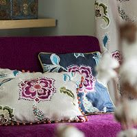 Prestigious Textiles have been designing beautiful interior fabrics and wallpapers for over 30 years. Choose from the UK's widest range of upholstery, cushion and curtain fabrics. Textile Design, Fabric Design, Prestigious Textiles, Modern Prints, Working Area, Printing On Fabric, Sewing Projects, Upholstery, Throw Pillows