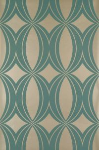Athena    Colour:  turquoise/gold    Material: paper  washable  smooth surface