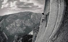 Alex Honnold in motion, photographed by Tim Kemple