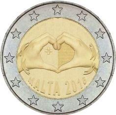"""MALTA 2016 > 2 € commemorativo """"Amore"""""""