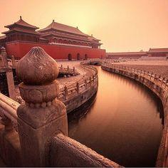 Forbidden City,Beijing, CHINA #Beijing - #China Credit: @jarrodcastaing  Via: @chinese.vacations ≕≔≕≔≕≔≕≔≕≔≕≔≕≔