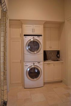 """Learn additional information on """"laundry room stackable washer dryer"""". Look into. Learn additional information on """"laundry room stackable washer dryer"""". Look into our site. Washer Dryer Laundry Room, Room Storage Diy, Laundry Dryer, Laundry, Stacked Laundry Room, Room Makeover, Basement Storage"""