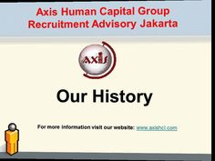 Our History of Axis Human Capital Group Recruitment Advisory Jakarta