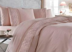 Satin Cotton Duvet Cover Set