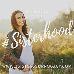 Join the conversation!  Our surrogacy support group is Texas Surrogacy Support on Facebook!  Lots of current and future gestational carriers there, as well as future parents.   Come join the #Sisterhood!   Www.3sistersurrogacy.com