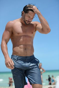 Joe Manganiello (@Lisette Lipscomb, why do you show me such things when I'm at work trying to concentrate?!)