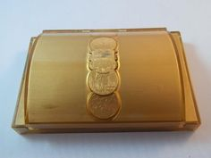 VINTAGE 1940's 50's LONGINES WITTNAUER Gold Watch Box Case...SOLD