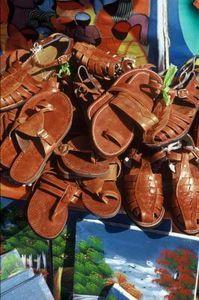 Antique Roman Sandals