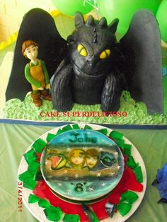 how to train your dragon CAKE 3D by cake superdelicioso, via Flickr