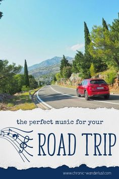 The perfect music for your road trip? To sing along or just to create atmosphere! Travel adventures like roadtrips whether with friends, with family or just solo- are often times even better with the right soundtrack! Road Trip Playlist, Travel Through Europe, Perfect Music, Hidden Places, Travel Music, Reisen In Europa, Whitewater Rafting, Wanderlust, Road Trip Hacks