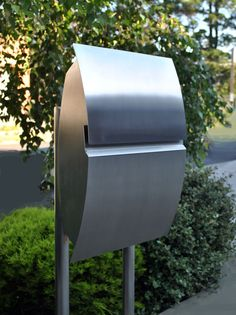 Mailboxes Galaxy mailboxes, 316 marine grade stainless steel, thick, distributed exclusively in Australia ia by Nidus. Post Box, 316 Stainless Steel, Mailbox, Around The Worlds, Outdoor Decor, Wall, Modern, House, Civil Engineering