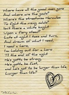 Holding out for a Hero--Ella Mae Bowen #greatsong #listentoit