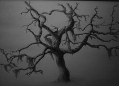 An old tree that I drew for someone. Sorry for picture not looking good, I need to get a good camera someday. Old Tree Commission Weeping Willow Tattoo, Black Tree, Deviantart, Paintings, Tattoos, Art, Tatuajes, Paint, Painting Art