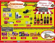 Check these good-to-go Christmas packages from #Ororama. So affordable, you just can't resist from buying them as gifts for your friends and family. ❤