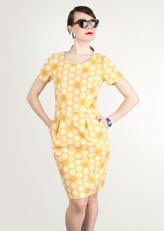 Image of Sunny Disposition Sheath Dress by Jamie Lau, $200