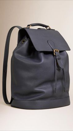 Burberry Grainy Leather Backpack