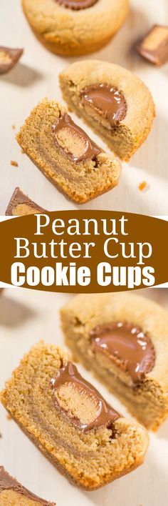 Peanut Butter Cup Cookie Cups