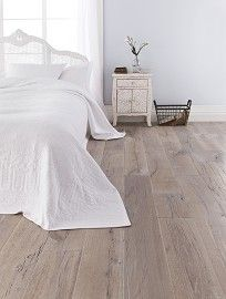 Solid Antarctic White Half Filled Solid Wood Flooring
