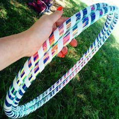 """Wonderland hula hoop, Great for beginner hoopers, very grippy, Any tubing, diameters up to 38"""""""