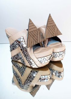 Elizabeth Dunn's fabulous shoe collection. I know these are over the top, but for vacation shoes they are fab!