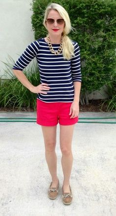 sperry outfits women - Google Search