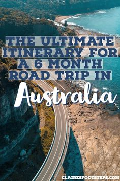 Planning a road trip in Australia? This road trip Australia itinerary takes you to the best spots in every state. It is a 6 month Australia itinerary covering more or less the whole country. Check out the Australia highlights by visiting this post! Perth, Brisbane, Sydney, Roadtrip Australia, Australia Travel Guide, Visit Australia, Australia Visa, Great Barrier Reef, Cities
