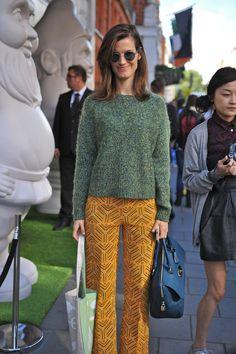 London Fashion Week #StreetStyle #Fashion #LFW #LondonFashionWeek #Hanneli
