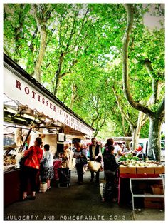 Arles: the best market in Provence, from Mulberry and Pomegranate