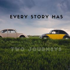 Every story has two journeys. ...or two goals for that matter. 1. The outer goal. Clearly visible stated and shown very early on. It's the girl who wants to get the boy. The coach who wants to win the game, a character who has to deliver something to someone in a condensed period of time. It helps if the outer is urgent. And it needs to be pressing in a way that even though the protagonist wants to avoid going on that journey, he/she finally has to! 2. The inner goal. Or the wound of the…