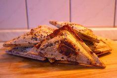 Zablisztes francia pirítós / Zabpehelyből készült összenyomós szendvics, ami gluténmentesen is elkészíthető