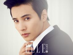 South Korean actor and model Won Bin in Biotherm Homme Shots in Elle Korea's June 2014 issue. Won Bin, Korean Star, Korean Men, Asian Actors, Korean Actors, Biotherm Homme, Autumn In My Heart, Cha Seung Won, Asian Eyes
