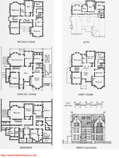 The Elms 1st amp 2nd Floor Plan I Found This On Tyler Y