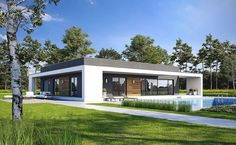 Wizualizacje Home Fashion, Garage Doors, Shed, Outdoor Structures, Mansions, House Styles, Outdoor Decor, Modern, Home Decor
