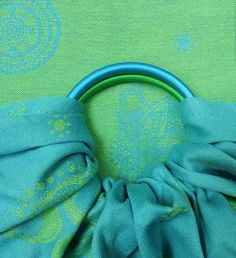 Fidella Shiva Spirit Green Ring Sling (organic cotton)