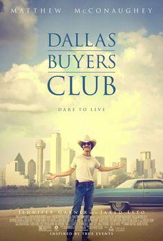 Dallas Buyers Club (2013)   El negocio de la supervivencia... Un demacrado Matthew McConaughey interpreta al despreciable y homófobo Ron...